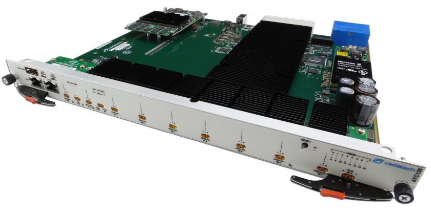 ATCA FPGA, ADC, DAC, channel, GSPS, Virtex, 7, blade, board
