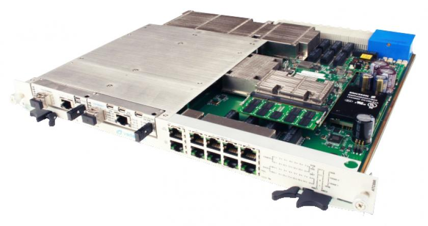 ATC806 - 40GbE/10GbE Scalable w/ 2 AMC Slots