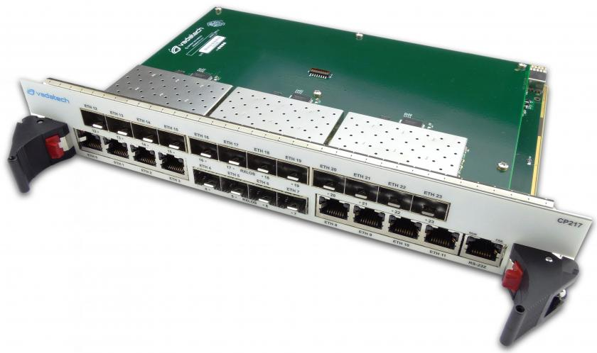 CP217 - 24 Port cPCI Managed Layer Two Switch