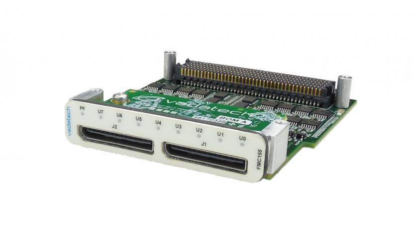 FMC155 – Multi I/O FMC Module (LVDS, RS-485/422, Single