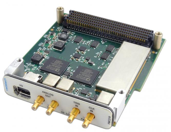 FMC219 - FMC High-speed Dual DAC 14-bit at 2.5 GSPS with Wide-band PLL on board