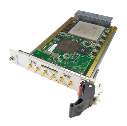 ADC 12-bit @ 5 4 GSPS and DAC 12-bit @ 6 GSPS, Virtex UltraScale+