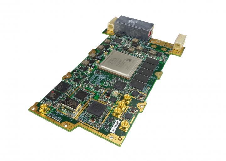 Dual RF Agile Transceiver with VITA 67 2 RF Connector, 3U VPX