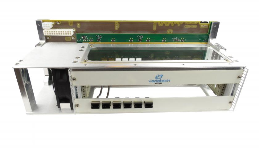 VTX991 - One Slot 6U VPX Benchtop Development Chassis with