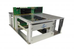 VTX981 - One Slot 3U VPX Benchtop Development Chassis with